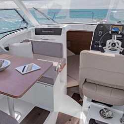 Antares 8 - Cockpit