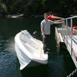 Hobby 420 Classic - stabil båt, velter ikke selv om 2 personer står på ripen