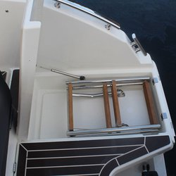 Askeladden C61 Center Console - badestige opp