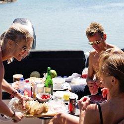 Koselig spisegruppe