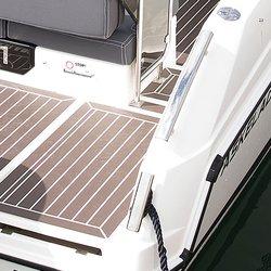 Askeladden C61 Cruiser - kryssholt og griperekke